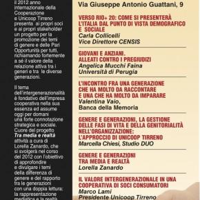 25 Novembre a Roma: Genere e Generazioni