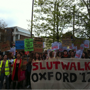 Slut Walk a  Oxford