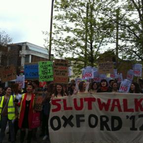 Slut Walk a  Oxford