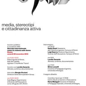 22 novembre, Rimini, Nuovi Occhi per i Media