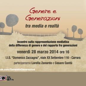 28 marzo, Carrara: Genere e Generazioni