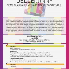 14 aprile, Torino: incontro al Politecnico